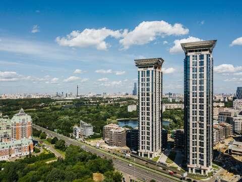 ЖК «Долина Сетунь» Резиденции в небоскребе на Кутузовском: